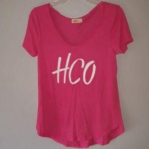 HCO Hollister Pink Shirt